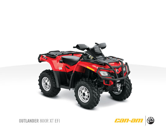 2011 Can-Am Outlander 800R XT