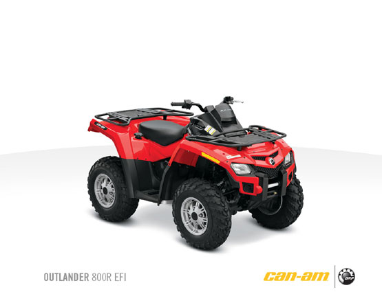 2011 Can-Am Outlander 800R
