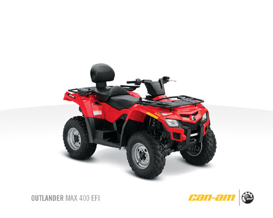 2011 Can-Am Outlander Max 400