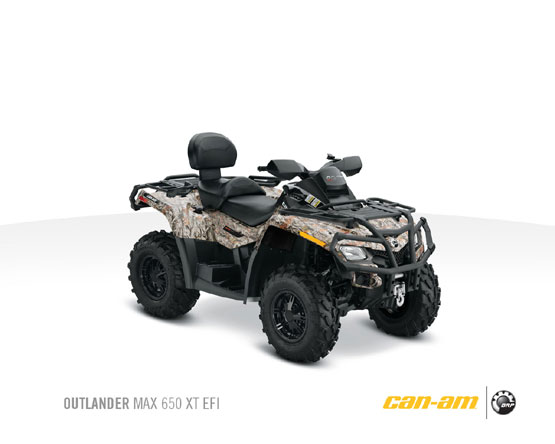 2011 Can-Am Outlander Max 650 XT