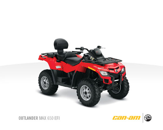 2011 Can-Am Outlander Max 650