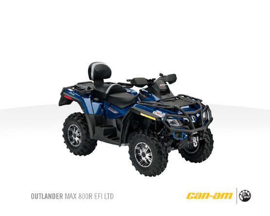 2011 Can-Am Outlander Max 800R LTD