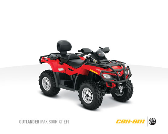 2011 Can-Am Outlander Max 800R XT