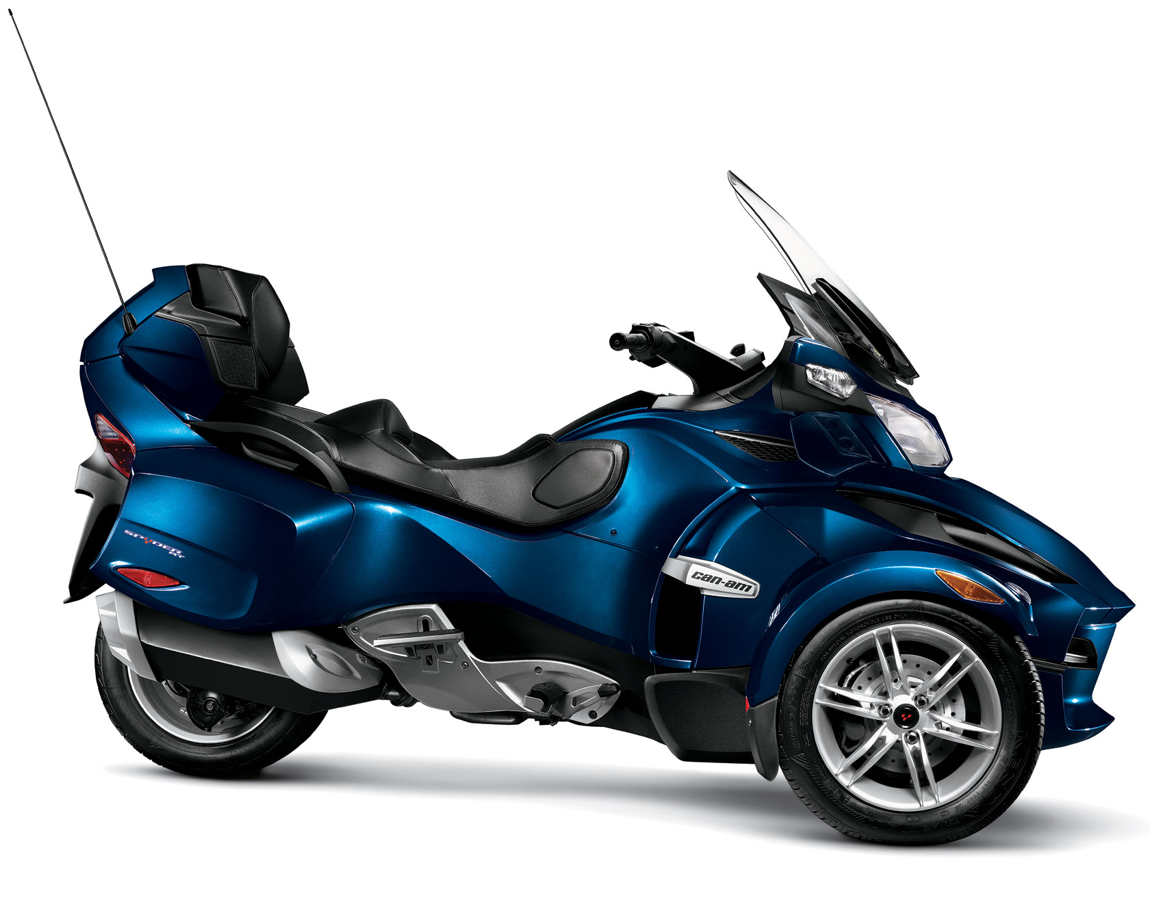 2011 can am spyder rt audio and convenience. Black Bedroom Furniture Sets. Home Design Ideas