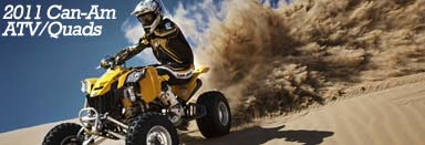 38 new 2011 Can-Am ATV/Quads released!