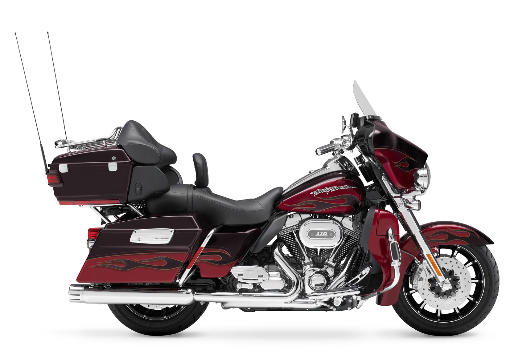 2011 Harley Davidson Flhtcuse6 Cvo Ultra Classic Electra Glide