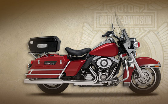 2011 Harley-Davidson Fire/Rescue Road King