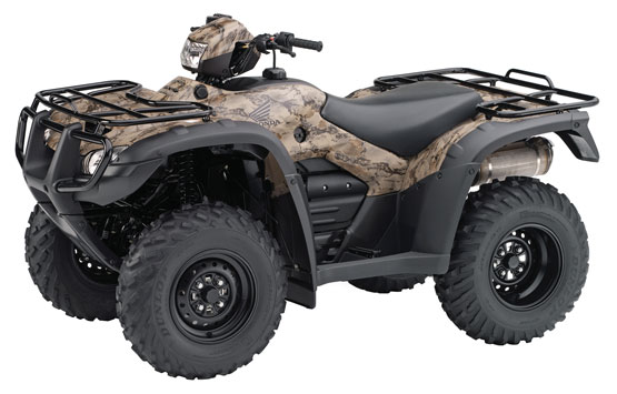 2011 Honda FourTrax Foreman 4X4 with Power Steering TRX500FPM
