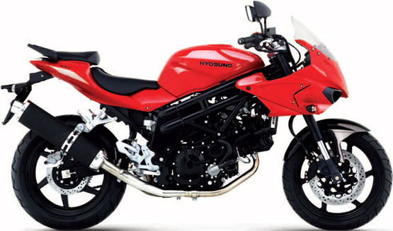 2011 Hyosung GT650S Sports Tourer EFI