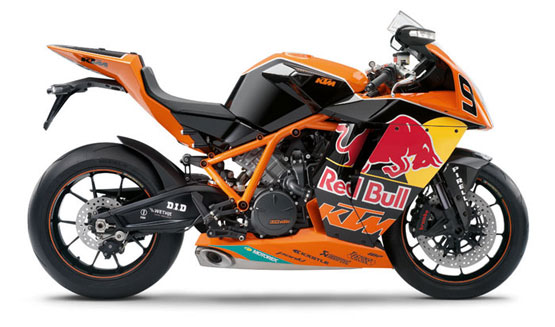 2011 KTM 1190 RC8R Red Bull Limited Edition