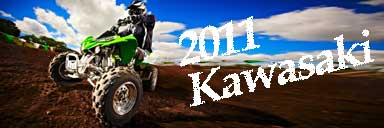 New 2011 Kawasaki ATV/Quads
