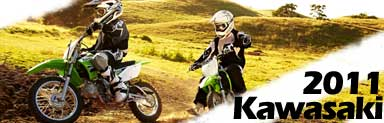 2011 Kawasaki Motocross and Offroad motorcycle models
