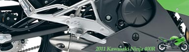 Exciting 2011 Kawasaki Ninja 400R