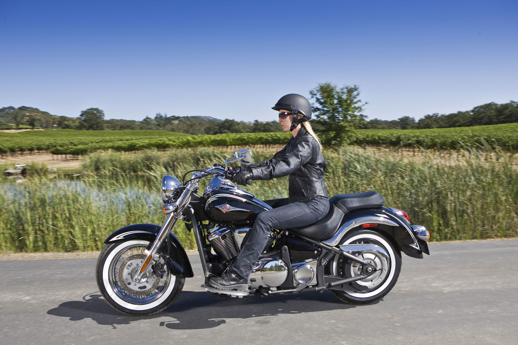 Meancycles 625 Wide Front Fender For Vulcan 900 Classic