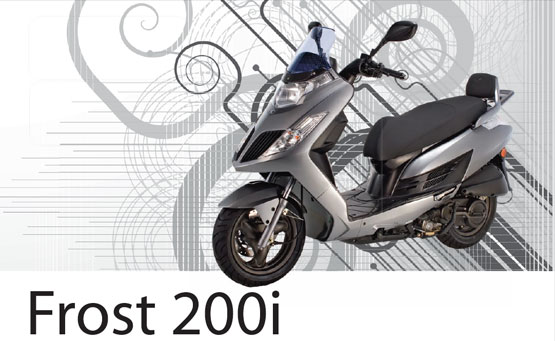 2011 Kymco Frost 200i
