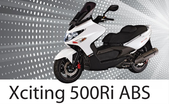 2011 Kymco Xciting 500 Ri ABS