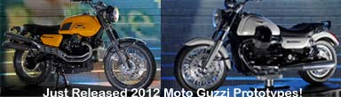 2012 Moto Guzzi Prototypes Released