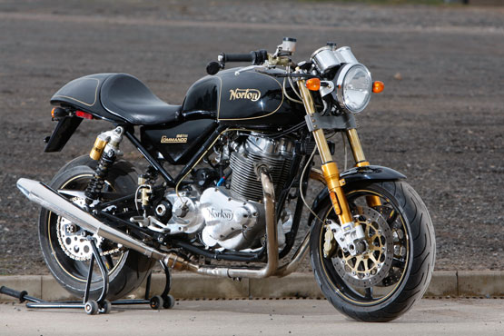 2011 Norton Commando 961 SE
