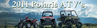 BIGGEST 2011 Polaris ATV release ever