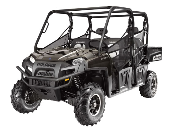2011 Polaris Ranger CREW 800 EPS Super Graphite LE