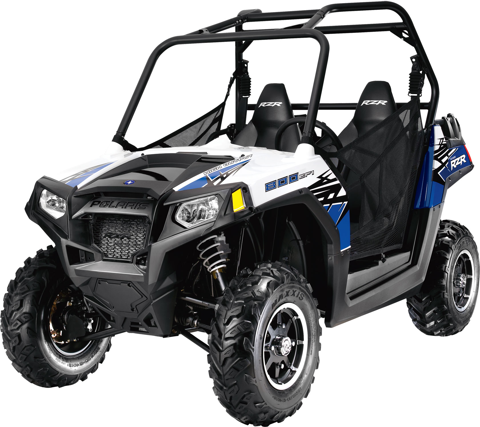 2011 Polaris Ranger Rzr 800 Boardwalk Blue  White Le
