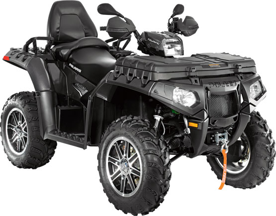 2011 Polaris Sportsman Touring 850 EPS Super Graphite LE