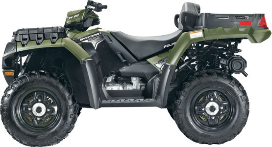 2011 Polaris Sportsman X2 850 LE