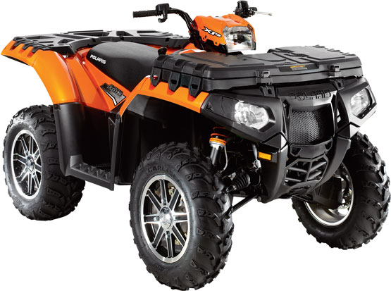 2011 Polaris Sportsman XP 850 EPS Orange Madness LE