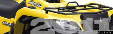New 2011 Suzuki ATVs and Quads