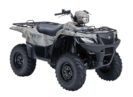 2011 Suzuki KingQuad 750AXi Power Steering Camo