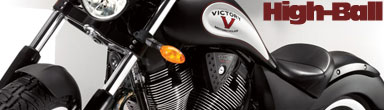 2011 Victory High-Ball Custom Cruiser