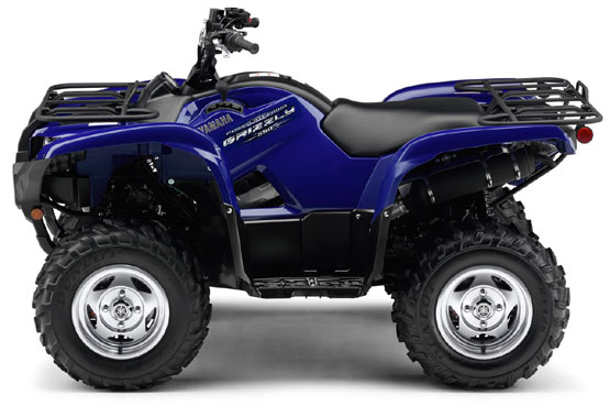 2011 Yamaha Grizzly 550 FI 4x4 EPS Special Edition