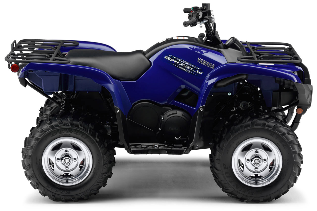 2011 yamaha grizzly 550 fi 4x4 eps special edition for Yamaha grizzly 4x4