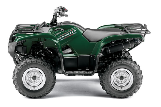 2011 Yamaha Grizzly 550 FI 4x4