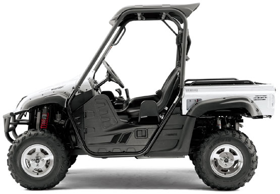 2011 Yamaha Rhino 700 FI 4x4 Special Edition Deluxe