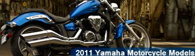 2011 Yamaha Motorcycles Models