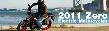 2011 Zero Electric Motorcycle Models!