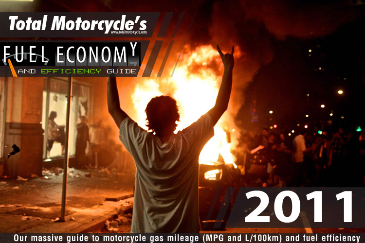 2011 Motorcycle MPG Fuel Economy Guide