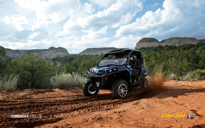 2012 Can-Am Commander 1000 Limited