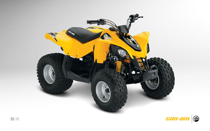 2012 Can-Am DS 70