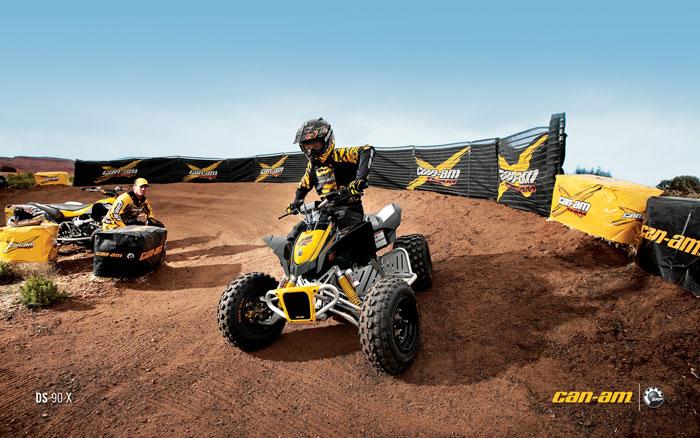 2012 Can-Am DS 90X