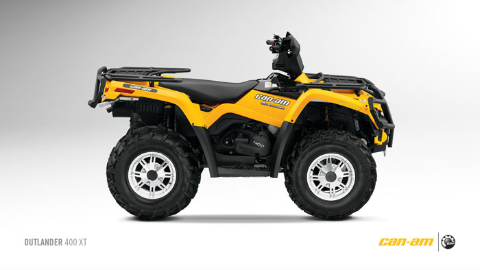 2012 Can-Am Outlander 400 XT Review