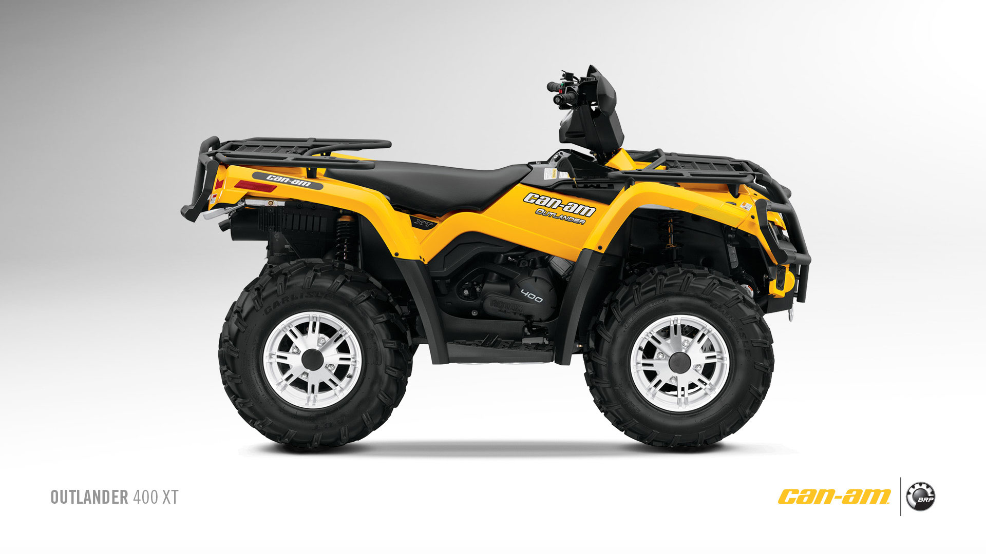 quad can am 400 xt