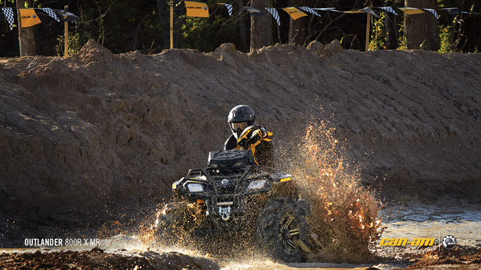 2012 Can-Am Outlander 800R X mr