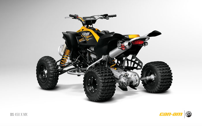 2012 Can-Am Outlander DS 450 X mx