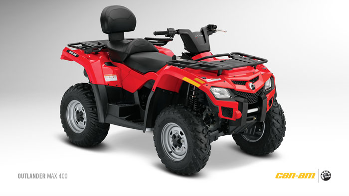 2012 Can-Am Outlander MAX 400