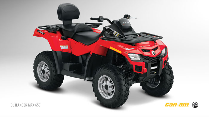 2012 Can-Am Outlander MAX 650