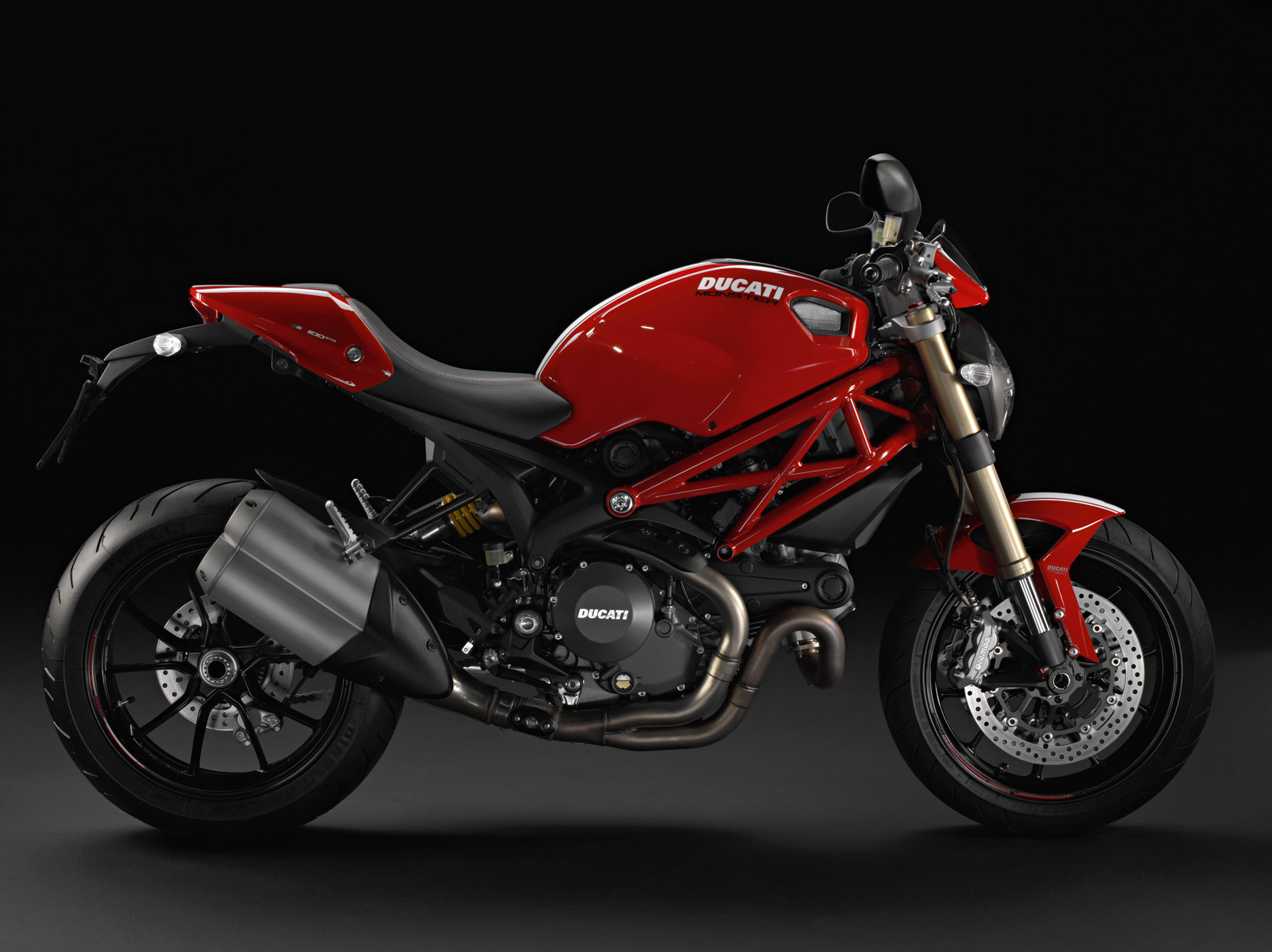 2012 Ducati Monster 1100 EVO Review