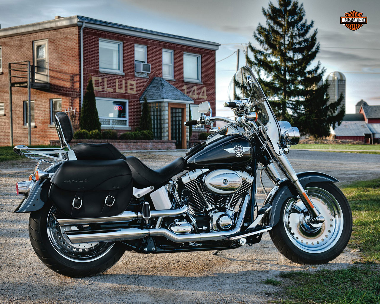 2012 Harley-Davidson FLSTF Softail Fat Boy Review