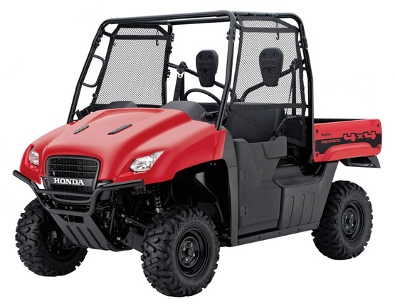 2012 Honda Big Red MUV700
